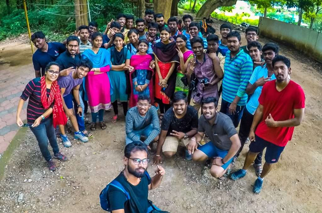 Karpagam College of Engineering Students with Tripjodi